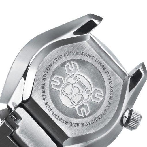 Steeldive 1968 Schwarz Edelstahl Armband