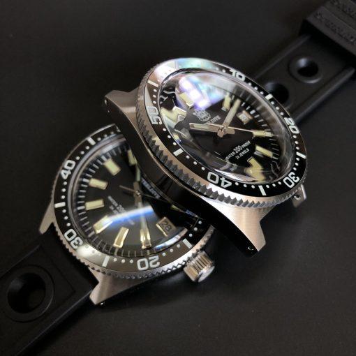 Steeldive 1962 Grün Edelstahl Armband