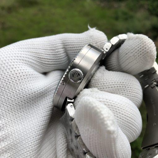 Steeldive 1976 Taucheruhr Schwarz 5-Link Armband